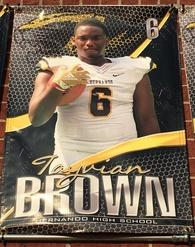 Tayvian Brown's Football Recruiting Profile