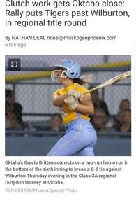 Gracie Britten's Softball Recruiting Profile
