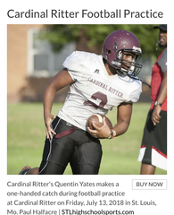 Quentin Yates II's Football Recruiting Profile