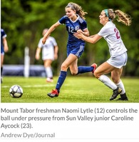 Naomi Lytle's Women's Soccer Recruiting Profile