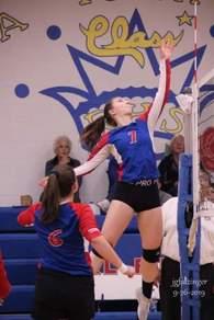 Lauren Krenning's Women's Volleyball Recruiting Profile