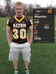 William (Alex) Craft's Football Recruiting Profile