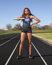 Cindy Nkamigbo Women's Track Recruiting Profile