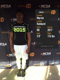 Marvin Hubbard's Football Recruiting Profile