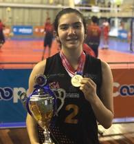 Vaeda Burkhead's Women's Volleyball Recruiting Profile