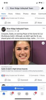 Mercede Crubel's Women's Volleyball Recruiting Profile