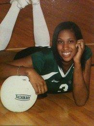 Ebony volleyball