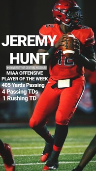 Jeremy Hunt's Football Recruiting Profile