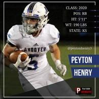 Peyton Henry's Football Recruiting Profile