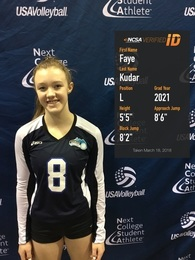 Fabienne Kudar's Women's Volleyball Recruiting Profile