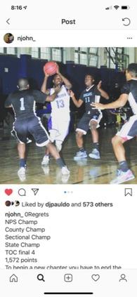 Nasir Johnson's Men's Basketball Recruiting Profile