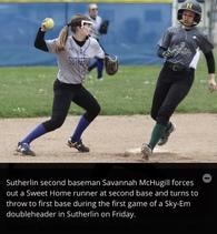 Savannah McHugill's Softball Recruiting Profile