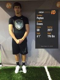 Payton Evans's Football Recruiting Profile