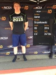 Aaron Grzymkowski's Football Recruiting Profile