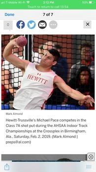 Michael Pace's Men's Track Recruiting Profile