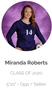 Miranda Roberts Women's Volleyball Recruiting Profile