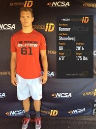 Konner Stoneberg's Football Recruiting Profile