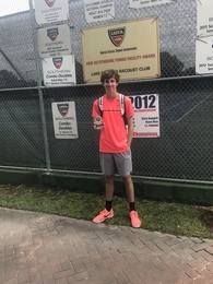 Austin Lamm's Men's Tennis Recruiting Profile