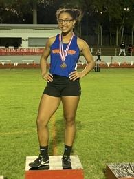 Zamaria Granado's Women's Track Recruiting Profile