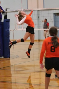 Trinidy Blanton's Women's Volleyball Recruiting Profile