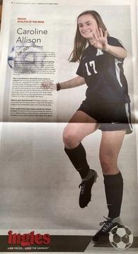 Caroline Allison's Women's Soccer Recruiting Profile