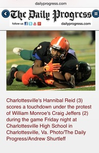 Hannibal Reid's Football Recruiting Profile