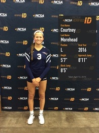 Courtney Morehead's Women's Volleyball Recruiting Profile