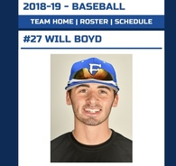 Will Boyd's Baseball Recruiting Profile