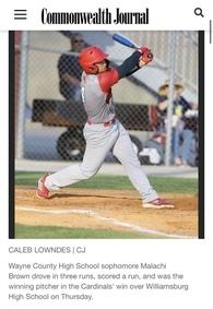 Malachi Brown's Baseball Recruiting Profile