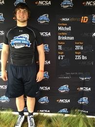 Mitchell Brinkman's Football Recruiting Profile