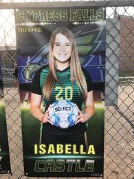 Isabella Castle's Women's Soccer Recruiting Profile