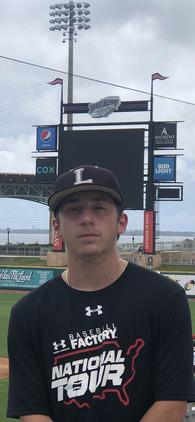 Morgan Sauber's Baseball Recruiting Profile