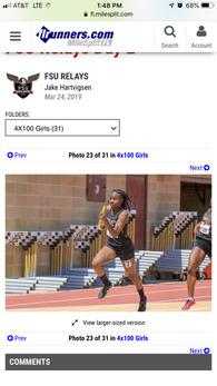 Tariah Mosley's Women's Track Recruiting Profile