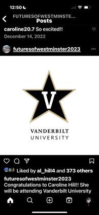 CAROLINE HILL's Women's Soccer Recruiting Profile