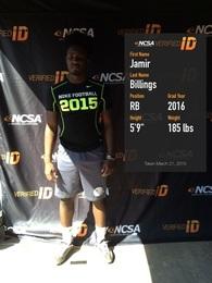 Jamir Billings's Football Recruiting Profile