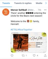 Hannah Pitts's Softball Recruiting Profile