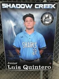 Luis Quintero Madriz's Baseball Recruiting Profile