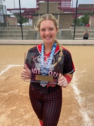 """Veronica """"Roni"""" Harrison's Softball Recruiting Profile"""