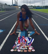 Darrian Johnson's Women's Track Recruiting Profile