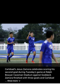 Jesus Zamora's Men's Soccer Recruiting Profile
