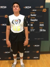 Hunter Kaupiko's Football Recruiting Profile