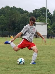 Dallas Ousley's Men's Soccer Recruiting Profile