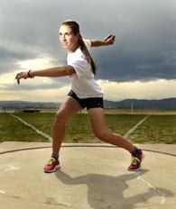 Valarie Allman's Women's Track Recruiting Profile