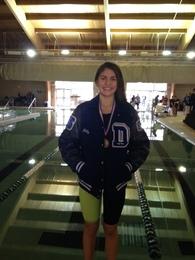 Lillian Araujo's Women's Swimming Recruiting Profile