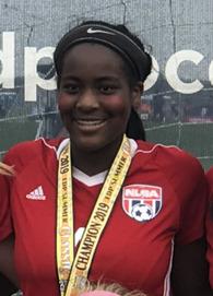 Joy Jones's Women's Soccer Recruiting Profile