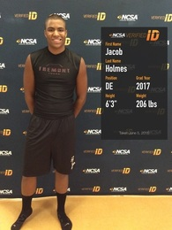 Jacob Holmes's Football Recruiting Profile