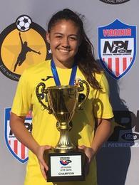 Camille Cortes's Women's Soccer Recruiting Profile