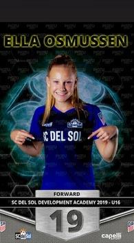 Ella Osmussen's Women's Soccer Recruiting Profile