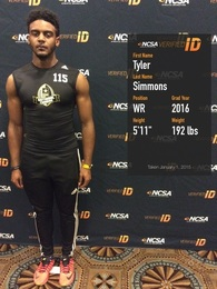 Tyler Simmons's Football Recruiting Profile
