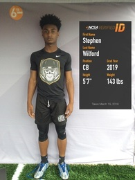 Stephen Wilford's Football Recruiting Profile